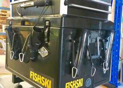 Fishskin jetski fishing box bumblebee